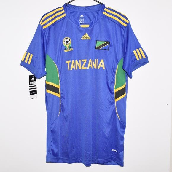 ed226260ab9 NWT NEW Adidas Tanzania Climacool Soccer Jersey. M_5cb11082d948a1d2ac9fd091